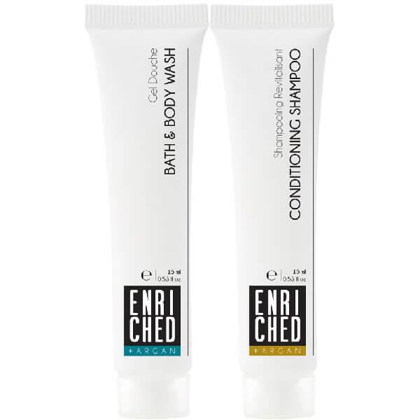 Enriched shampoo and bodywash 15ml
