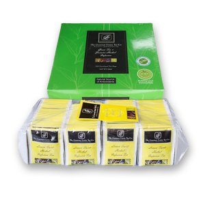 Lemon twist and Green tea