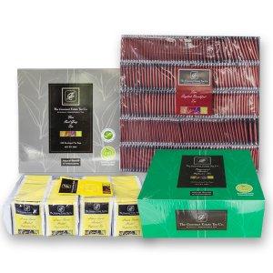 Four different flavours tea