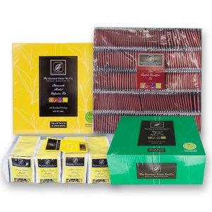 Four flavours tea variety