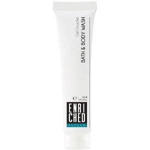 Enriched bath and shower gel