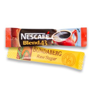 coffee and raw sugar