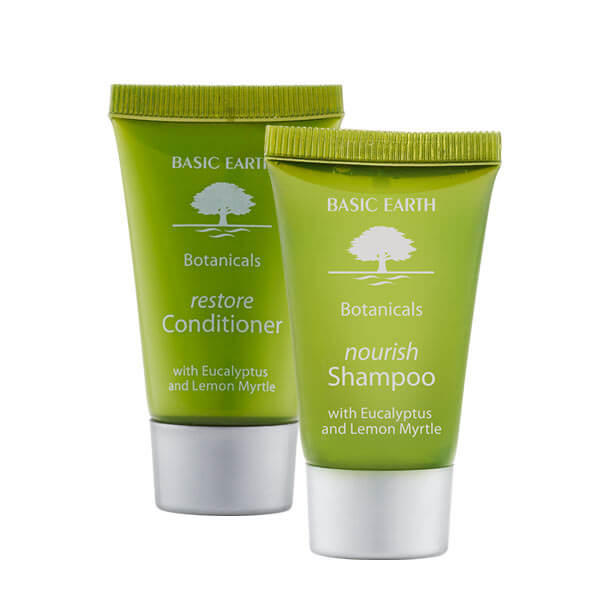 basic earth shampoo and conditioner