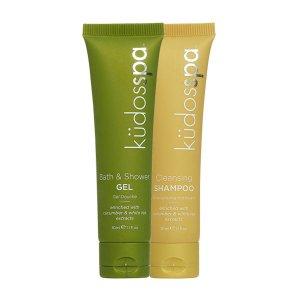 kudos spa shampoo and shower gel 30ml