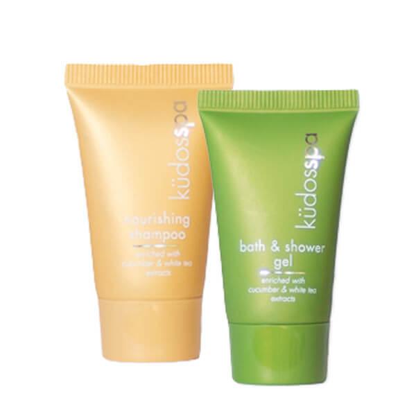 kudos spa shampoo and shower gel 15ml