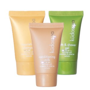 Kudos spa shower gel shampoo and conditioner 15ml