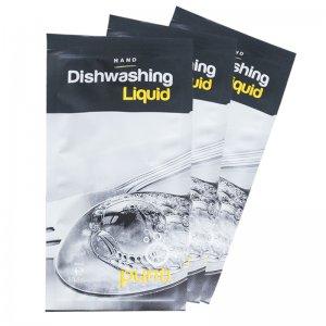 Dishwasher liquid sachets