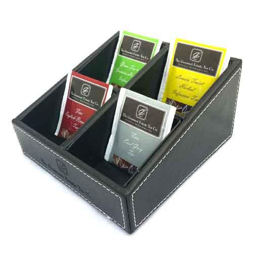 Tea Caddie 4 compartments